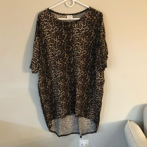 Lularoe Cheetah Print Dress M